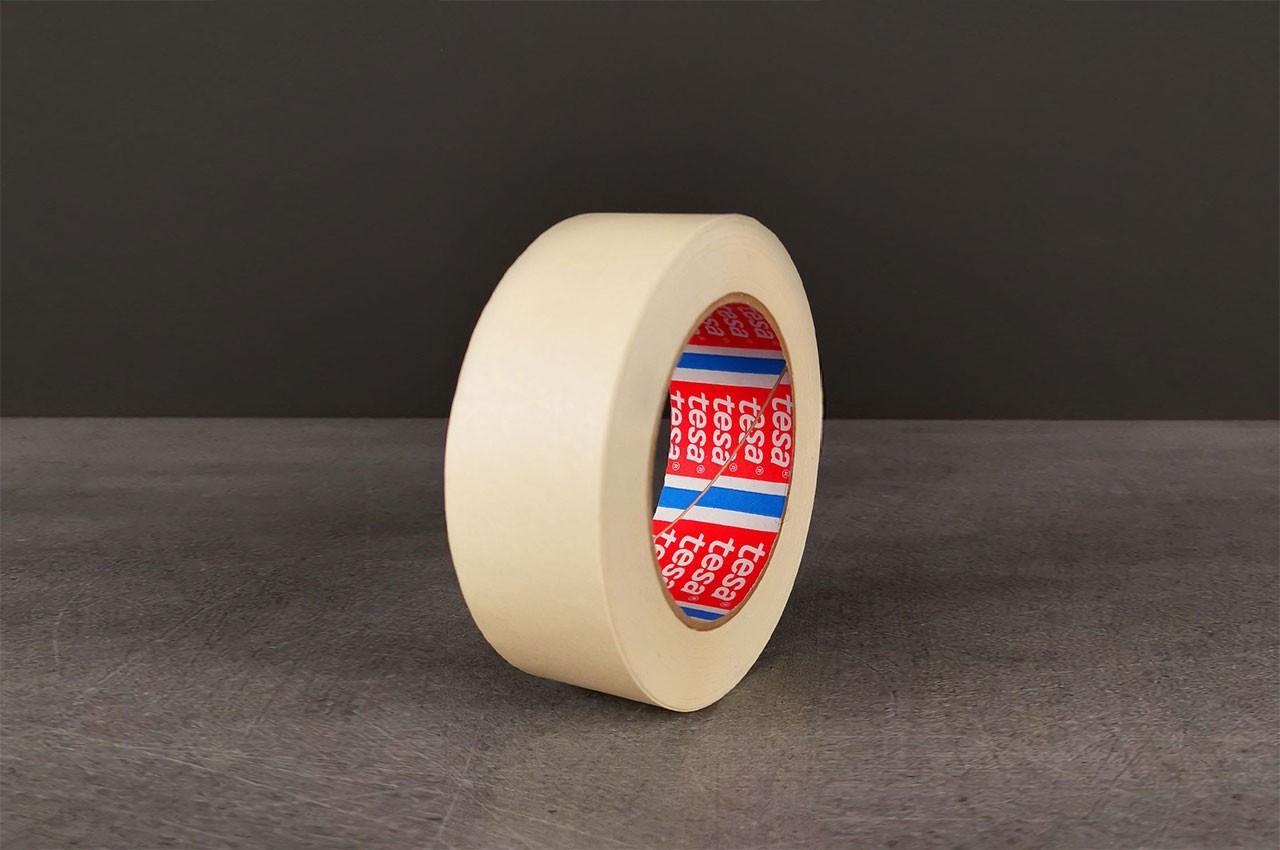 Ruban de masquage papier crêpé lisse industriel - TECMATEL